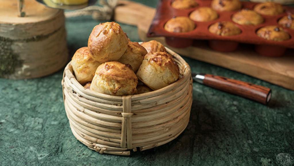 Prästostmuffins