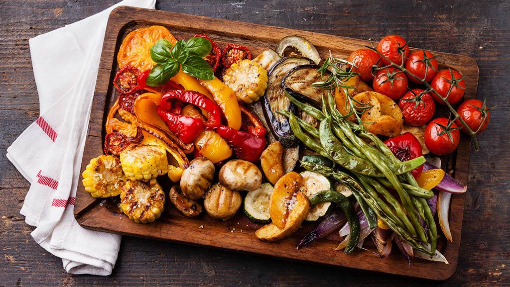 Konsten att grilla grönsaker