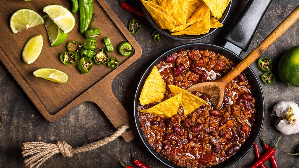 Chili con carne enligt alla konstens regler